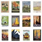 Vintage Travel Poster A3 or A4 Collection of most famous prints posters wall art