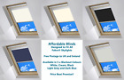 Blackout Blinds Designed To Fit FAKRO® Skylights - 5 Colours Available