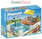 PLAYMOBIL BUILT IN SWIMMING POOL - DOLLS AND PLAYSETS PLAYMOBIL BRAND NEW