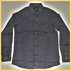 QUIKSILVER Mens Shirt*Size:S M L *BLACK New Long Sleeve Top-Genuine Brand