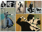 BLEK LE RAT GRAFFITI photoprint/ironon transfer/ sticker, choice of pictures