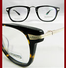 Men women Vintage style Eyeglass frames Carved Optical lens-able Tortoise/black