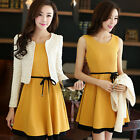 Autumn new Fashionable delicate beautiful Bowknot is lace-up two-piece  skirt