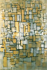 Composition Number 14-Mondrian - - CANVAS OR PRINT WALL ART