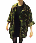 URBAN WOMENS WINTER JACKET OVERSIZED ARMY VINTAGE GENUINE DPM RIPSTOP