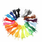 Flat Coloured Sneaker Laces Shoelaces Boot Trainer Athletic Sport Shoes String