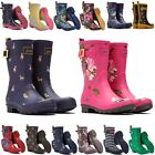 LADIES GIRLS JOULES FESTIVAL STABLE YARD SNOW RAIN WELLIES ALL COLOURS & SIZES