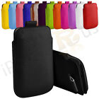 Large Premium PU Leather Pull Tab Case Cover Pouch For Alcatel Fire S