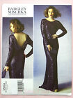 Vogue V1374 Sewing Pattern Misses' Evening Dress - Designer Badgley Mischka