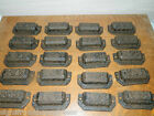 Lot 20~Ornate Cast Iron Industrial Tool Seed Index File Bin Pull or Handles