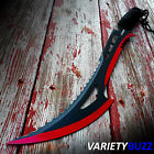 "24"" RED ZOMBIE TACTICAL SURVIVAL HUNTING KNIFE Fixed Blade Machete Sword SHEATH"