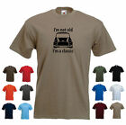'I'm not old, I'm a classic' Funny Mini Cooper Dad Father Birthday Gift t-shirt