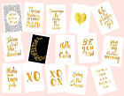 Gold Foil Words- A4 Print/ Poster/ Artwork- Choose Words- 15 Prints Available