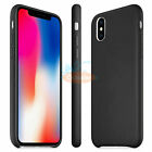Slim Luxury PU Leather Ultra-thin Back Case Cover For iPhone X/ 6/ 6S/ 7/ 7 Plus