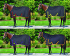 Med/Heavy Weight 250g Turnout Rug Standard Neck or Combo Blue Check All Sizes