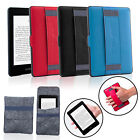 For All versions Kindle Paperwhite Back Case w/ Hand Strap+Black Protection Bag
