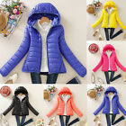 Fashion Women's Winter Warm Cotton-padded Coat Quilted Jacket Slim Outwear moca