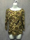 CHARTER CLUB WOMAN 3/4 SLEEVE TOP SIZE M