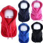 New Outdoor Winter Fleece Warm Windproof Balaclava Hood Full Face Mask Hat Cap