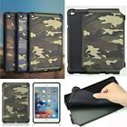 New Camo Shockproof Strong Protective Tablet Case Cover for iPad mini 1 2 3 4
