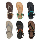 ONeill Batida Strappy Sandals Leather Sandals Ladies Toe Separator Summer shoes