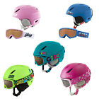 Giro Launch CP Kids Helmet + Glasses SET Ski Snowboard goggles NEW