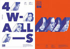 f(x) Vol. 4 [4 WALLS] CD+Booklet+Photocard+Poster Orange ver. or White ver. NEW
