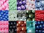6mm 100pcs 8mm 50pcs 10mm 25pcs round glass pearl loose beads buy4get1free