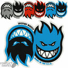 "SPITFIRE ""Eternal"" Skateboard Snowboard Surf Sticker Red Blue Silver 16cm x 13cm"