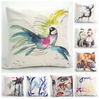 "Colored Drawing 18""x45cm Decor Cotton Linen Cushion cover Pillowcase"
