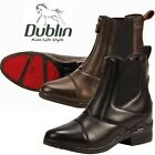 NEW Dublin Intensity Front Zip Paddock Boots - Black & Brown - Many Sizes!!