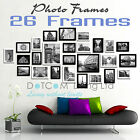 Large Multi Picture Photo Frames Wall Set 13/20/23/26PCS Art Deco Home Gift