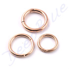 SEGMENT RING Hinged Smooth PVD ROSE GOLD  1.2mm  1.6mm   Ear Septum Nose Lip