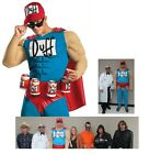 MENS Duffman Classic Beer Adult Simpsons Plus Size Halloween Costume XL or XXL