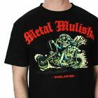 New Metal Mulisha Mens T-shirt BOB Bobber chopper style BLACK motocross bmx atv