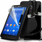 S-Line Wave Gel Case✔In Ear Stereo Headset for Sony Xperia E4