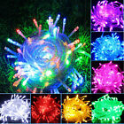 1M/2M/3M/4M/5M/10M LED Fairy Light String Lamp Christmas Party Xmas Decors USHF