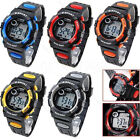 Kids Digital Watch, Boys Sports Waterproof Led Watches With Alarm Wrist Watches image