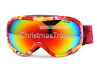 Men Women SKI Goggles snowboard gear Polycarbonate Polarized Dual lens anti-fog