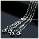 5pcs/Lot Silver Stainless Steel Joint O Link Chain Necklacse Fashion DIY Jewelry