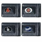 MLB Baseball Team Leather Card Holder Money Clip Wallet  * Pick Your Team * on Ebay