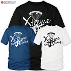 SKY DIVING extreme sports t-shirt xmas birthday gift paragliding parachuting
