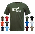 'Probably the Best Gamer in the World' Funny Computer Birthday Gift T-shirt Tee