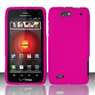 For Motorola Droid 4 XT894 Rubberized Hard Snap on Cover Case Skin New