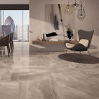 Cashmere Brown Marble Effect Porcelain Floor/Wall Tile 600x600x10mm 5-10Sqm