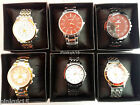 New Wholesale Joblot of Assorted Quartz Mens Wrist Watches in Box x6 x10 x15 x25
