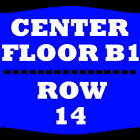 2 TIX CHICAGO WITH EARTH, WIND AND FIRE 4/6 FLOOR B1 ROW 14 GIANT CENTER HERSHEY