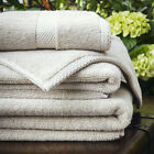 Bamboo Luxury Face Cloths, Hand & Bath Towels, Bath Sheets 600gsm Latte