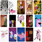 Courage The Cowardly Dog Cartoon Flip Case Cover for Sony Xperia Z - T81
