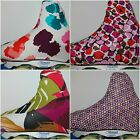 BRIGHT COTTON LYCRA ICE ROLLER SKATING BOOT COVERS SMALL SIZE